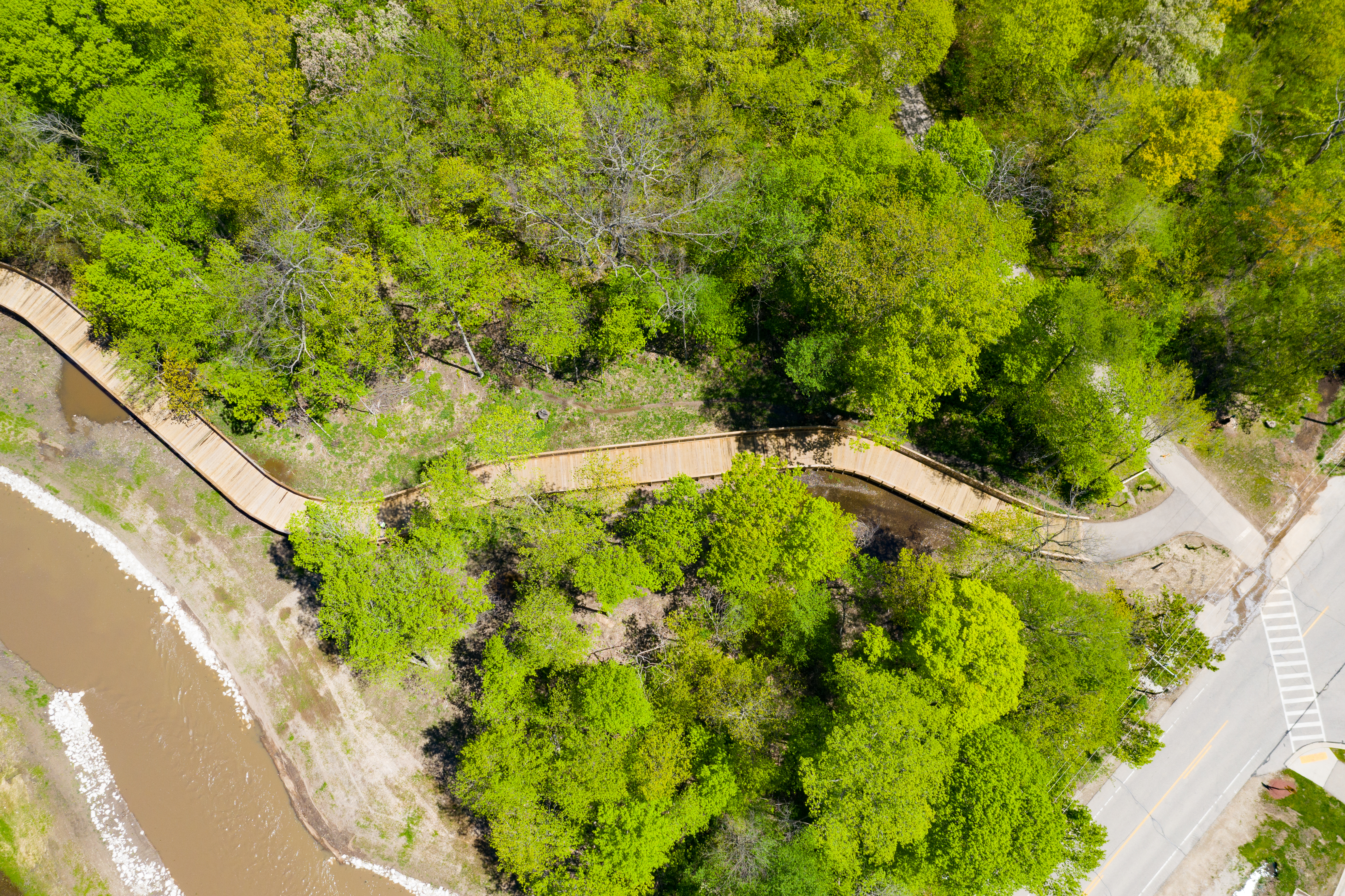 Pike River Trail Aerial