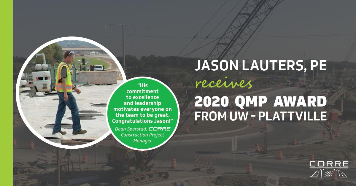 Lauters 2020 QMP Award